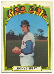 1972 Topps Baseball Cards      290     Sonny Siebert